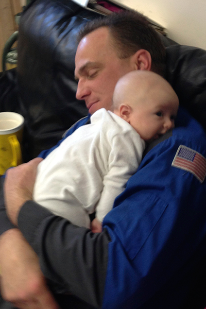 Baby Love with Daddy
