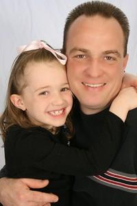 Graci & Daddy 2009