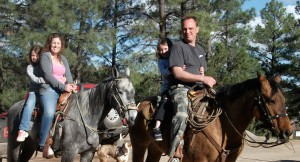 Horseback Riding Family