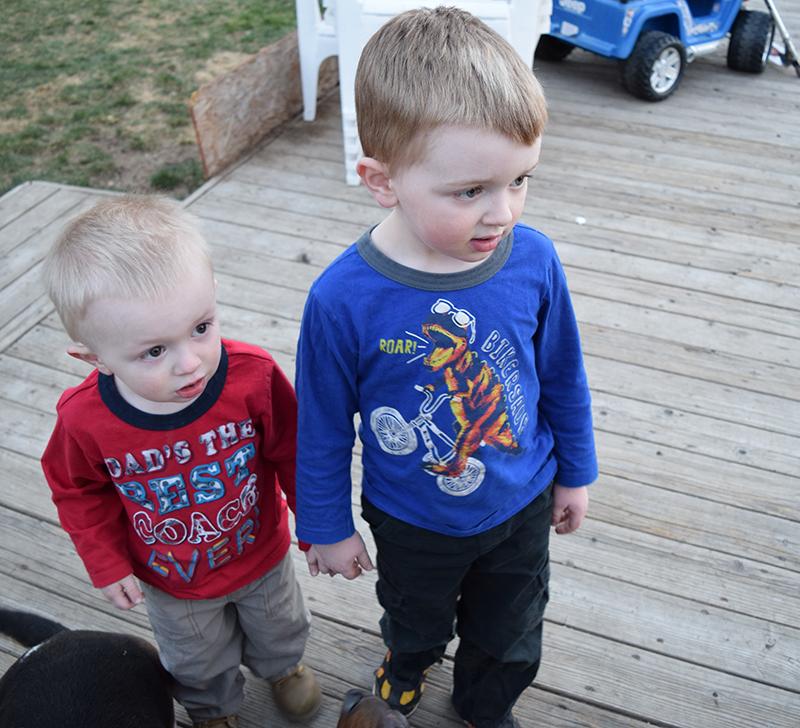 Noah and Nemi - best buddies