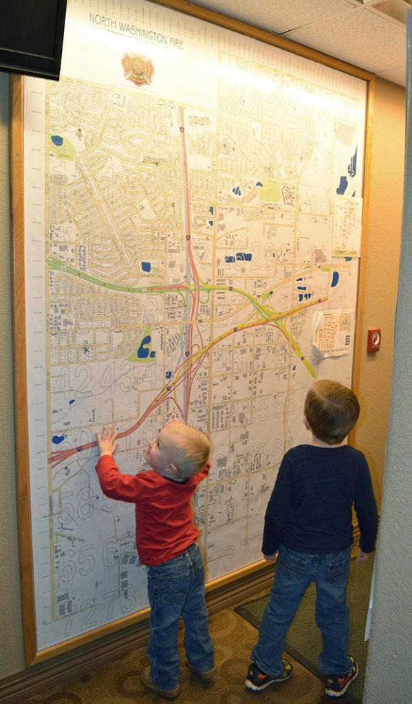 Fire Station Map with Brothers