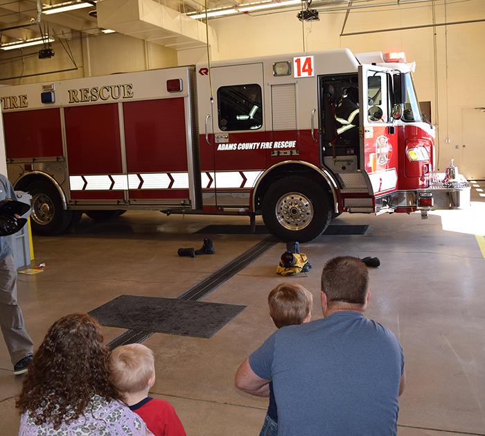 Homeschool Field Trip to Fire Station