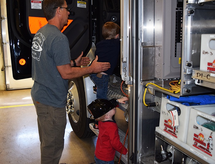 Fire Station Field Trip Hazmat Truck Preschoolers