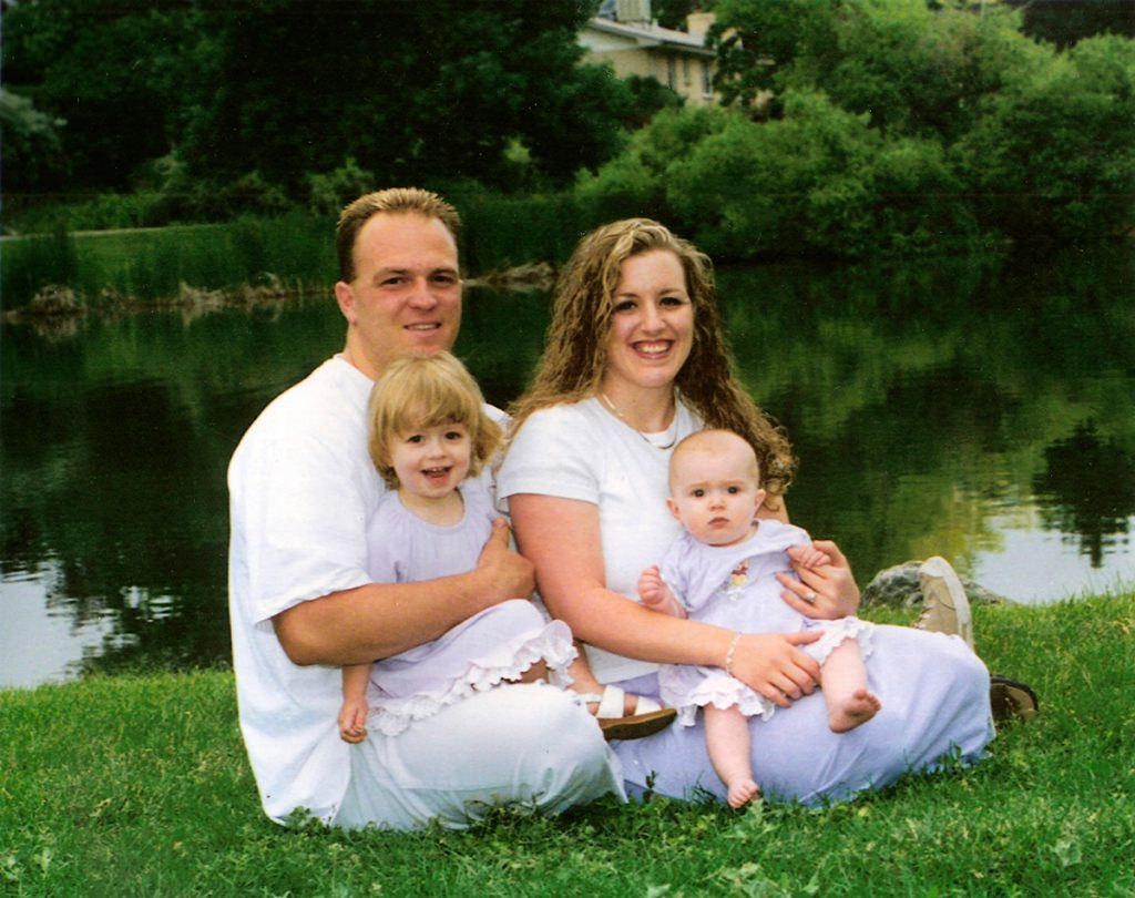 Our family in Summer 2003