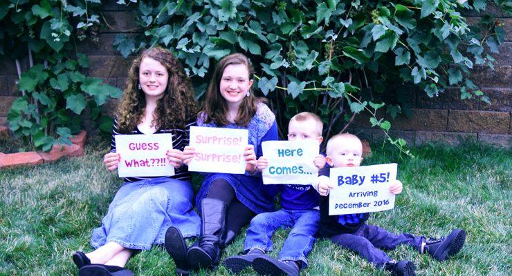 Pregnancy Announcement - Baby #5!