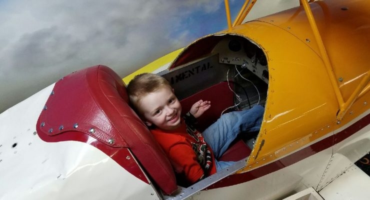 A boy and his plane